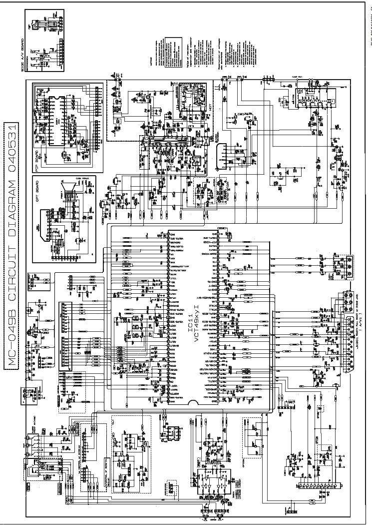 Схема телевизора lg rt-21fb35m шасси mc-049b