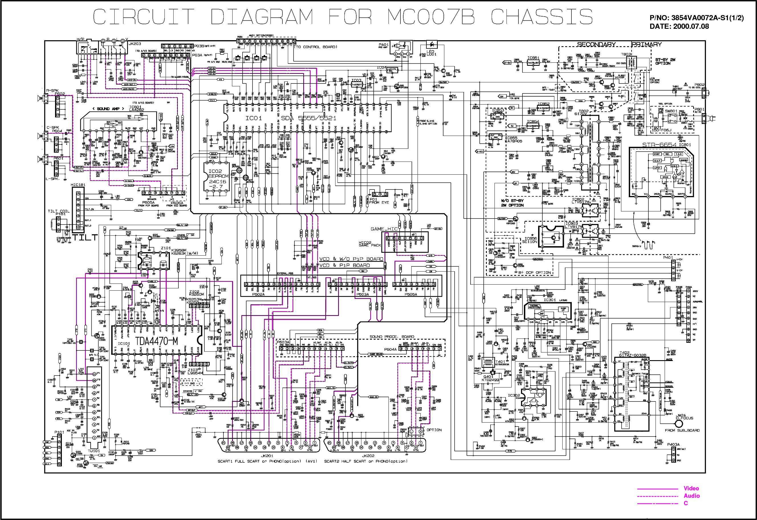Схема телевизора lg на шасси cw81b