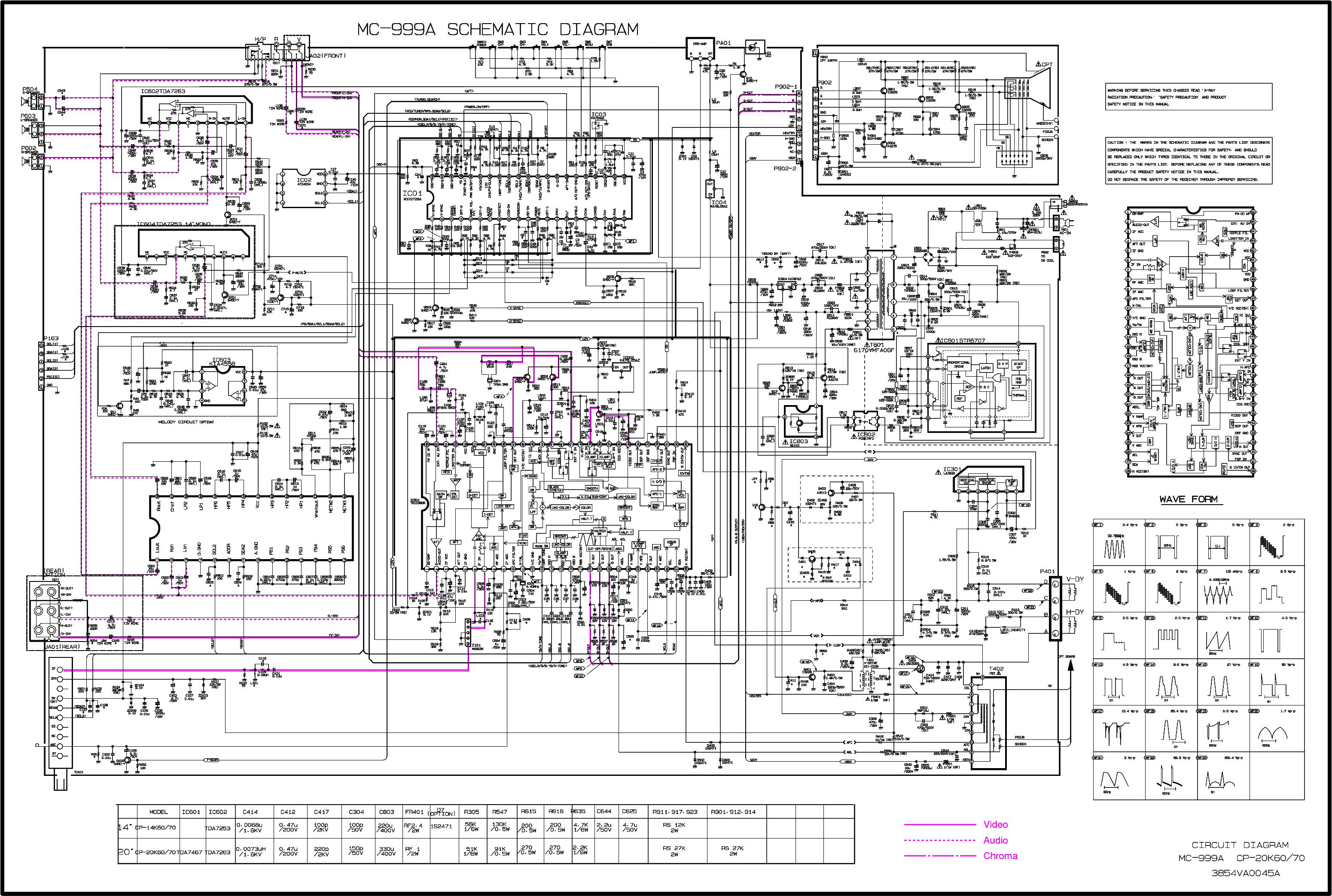 lg cp20k70 mc999a sch service manual download  schematics