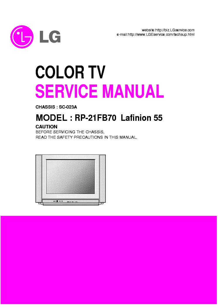 lg lafinion 55 rp21fb70 sc 023a service manual download. Black Bedroom Furniture Sets. Home Design Ideas