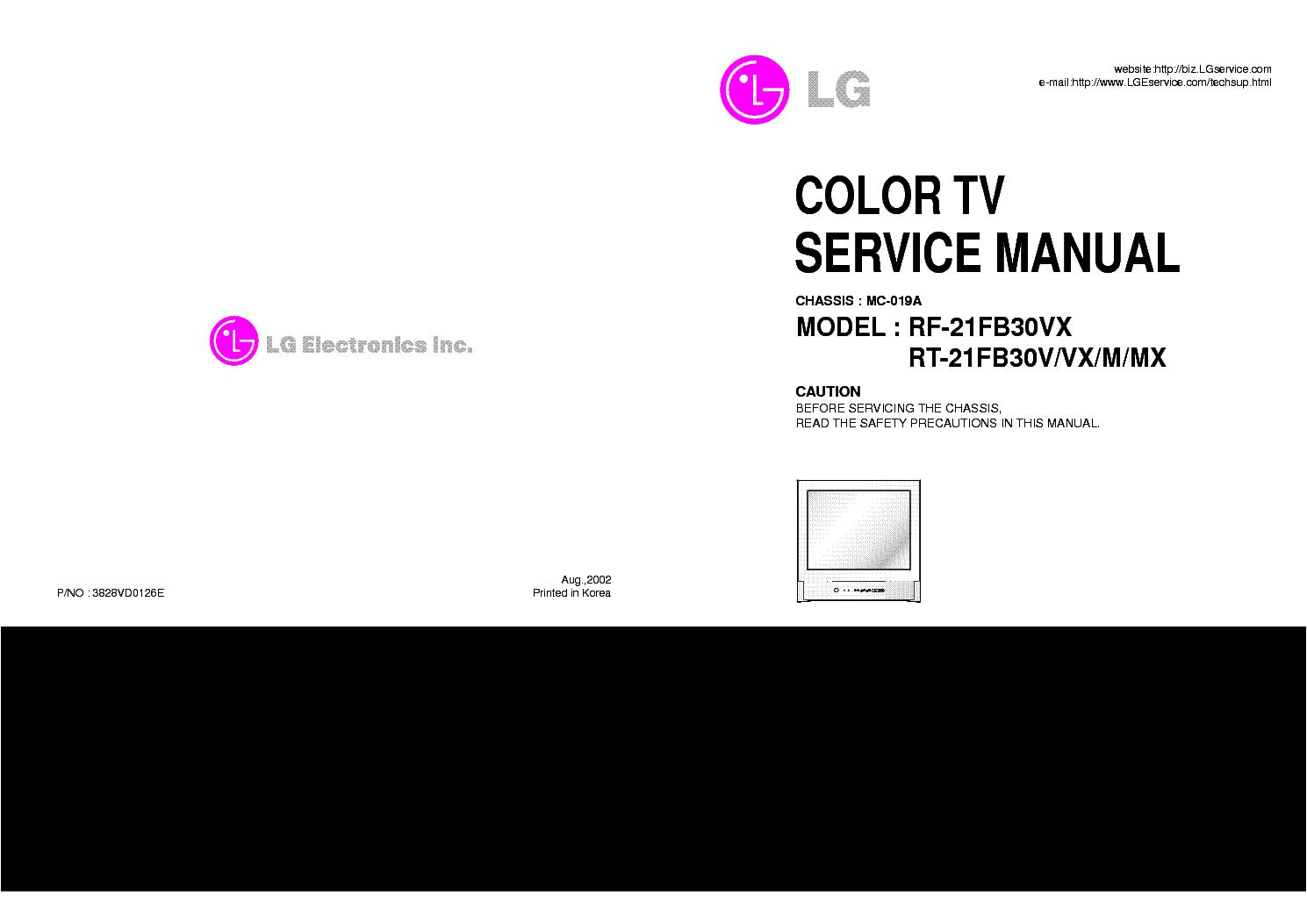 lg 50pa6500 50pa6500 tm plasma tv service manual