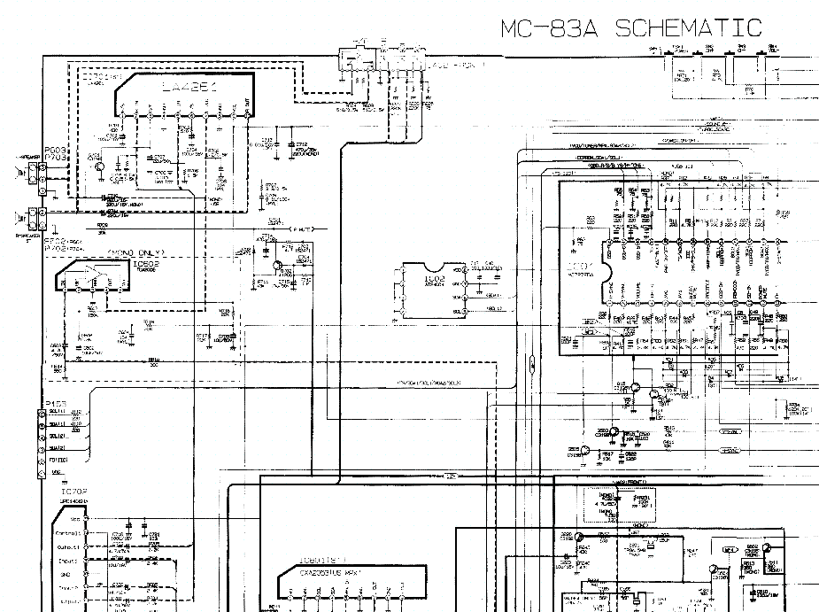 LG MC83A service manual (2nd page)
