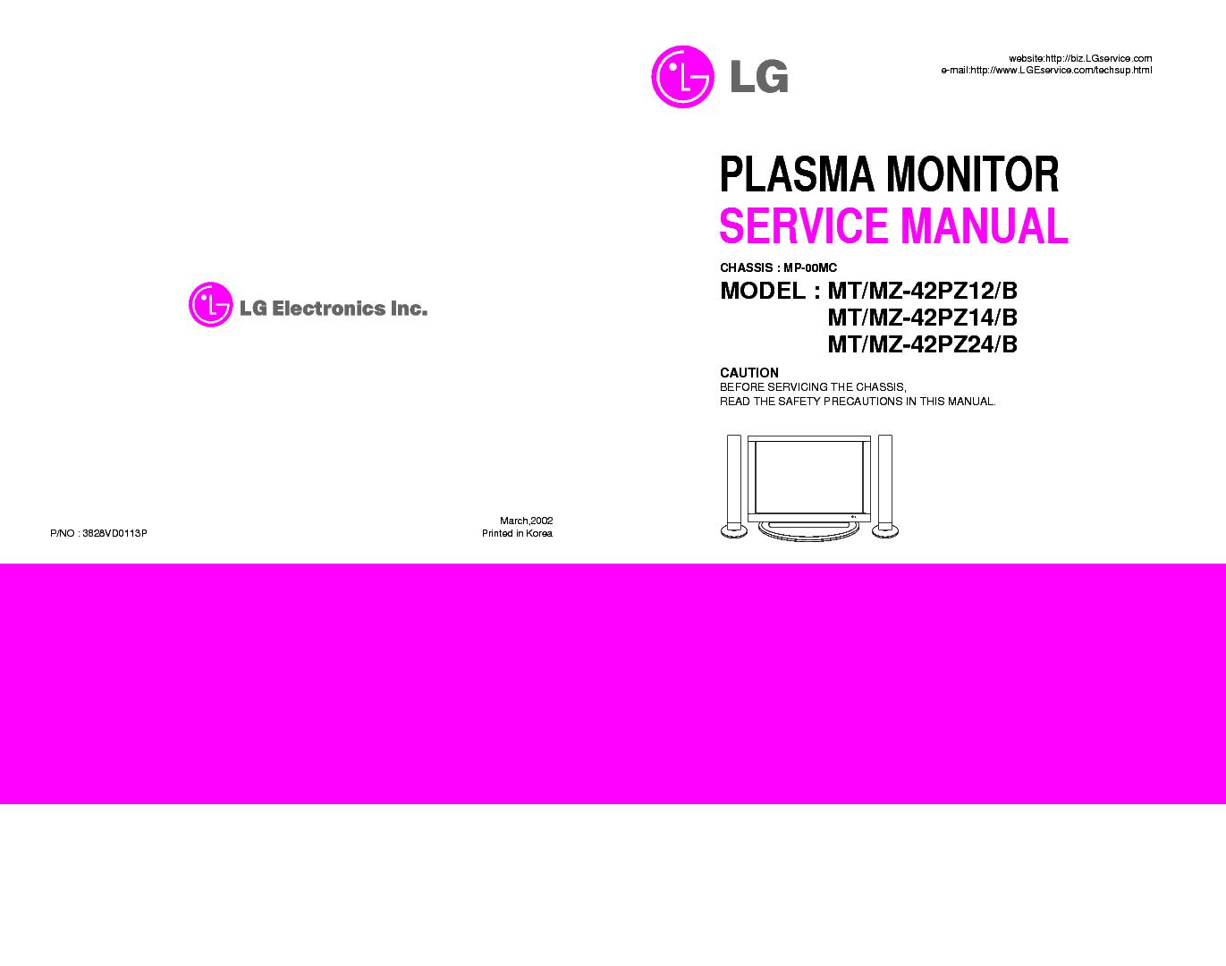 Lg service manual tv pdf