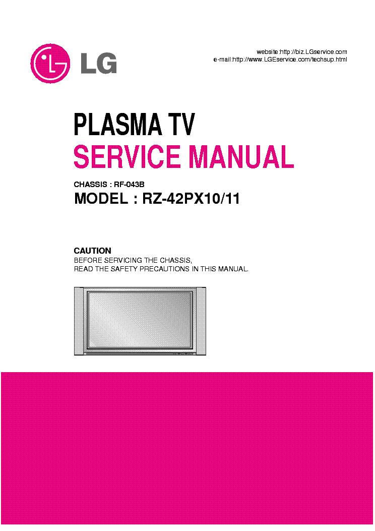 Lg rz42px11 [pdf document].