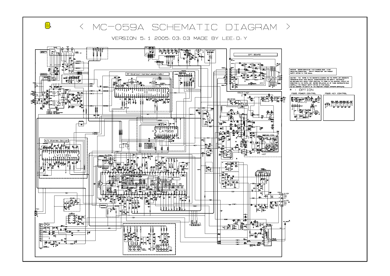 schematic diagram tv schematic image lg tv 21fb3ab ph mc059a b sch service manual on schematic diagram tv