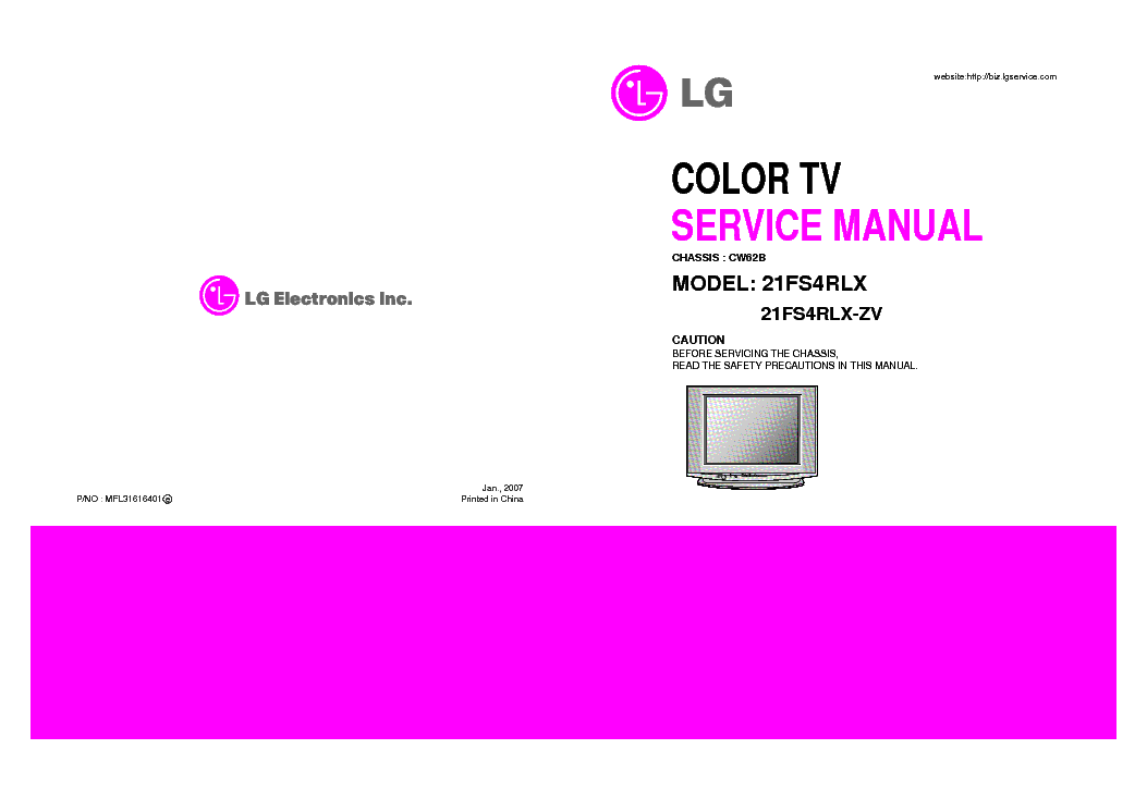 lg tv 21fs4rlx chassis cw 62b service manual download schematics rh elektrotanya com lg owner's manual plasma tv lg owner's manual plasma tv