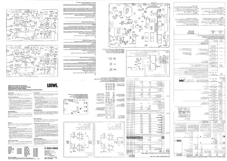 LOEWE C9001-9002-110C91-92 SCH service manual (1st page)