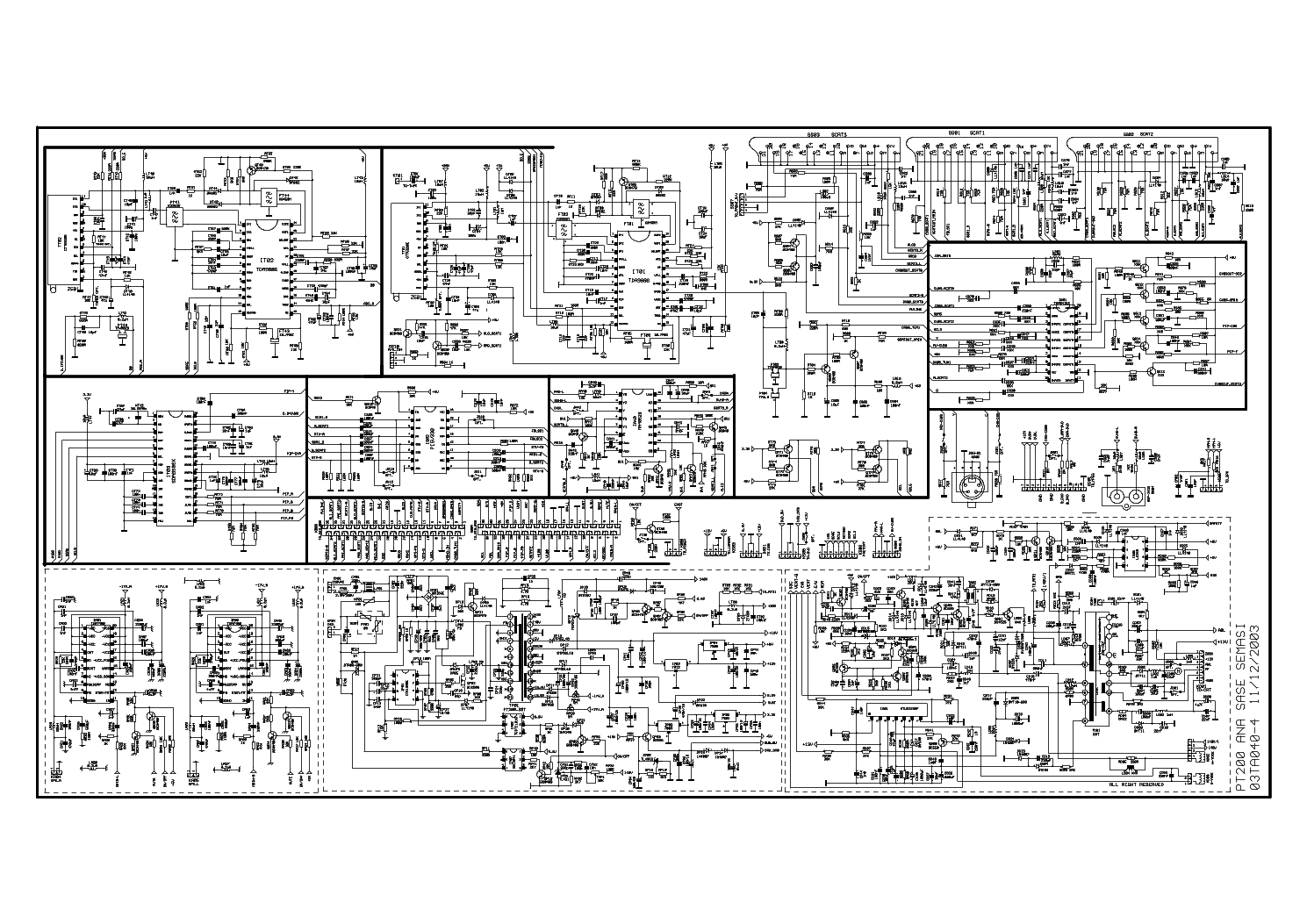 Medion Md21072a Chassis Pt200 Pdf Service Manual Download  Schematics  Eeprom  Repair Info For