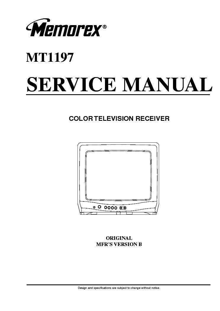 memorex mt1197 orion tv1934 service manual download schematics rh elektrotanya com Orion TV Orion Company
