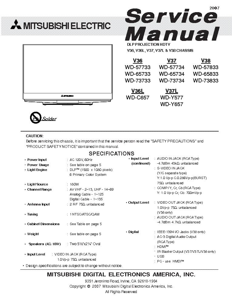 wd y657 manual