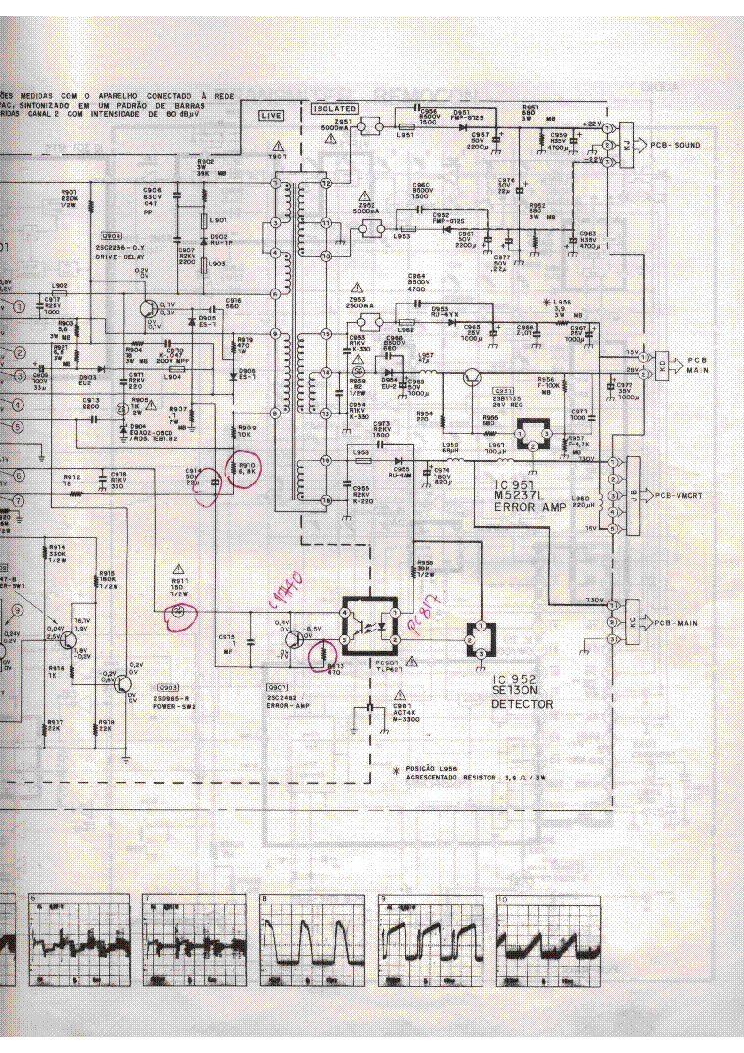 For Mitsubishi Tv Schematics - Wiring Diagram Img