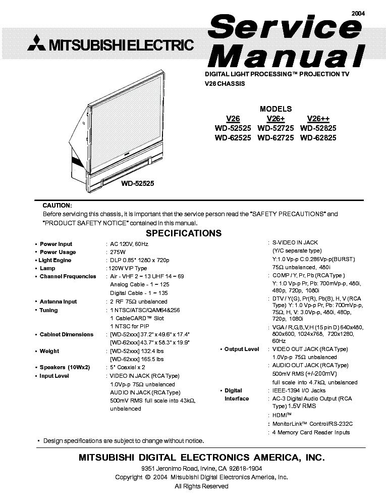mitsubishi chassis vz9x vs 45609 50609 55609 60609 60719 70709 rh elektrotanya com Mitsubishi Montero Engine Manual Mitsubishi Outlander