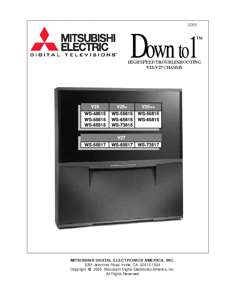 mitsubishi chassis vz9x vs 45609 50609 55609 60609 60719 70709 rh elektrotanya com 2005 Mitsubishi Lancer Manual PDF 2005 Mitsubishi Lancer Manual PDF