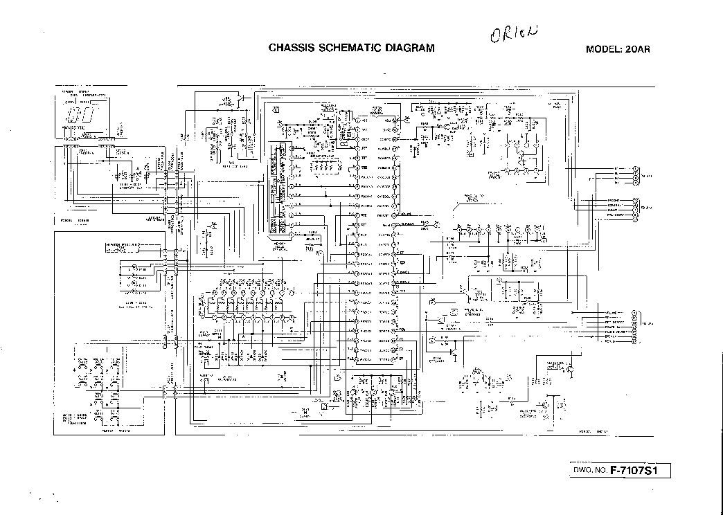 orion t2167mj шасси paex0199a схема
