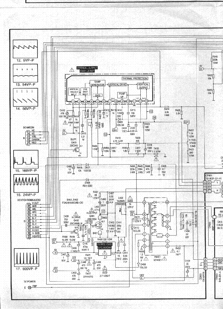 orion color 340 service manual free download  schematics  eeprom  repair info for electronics