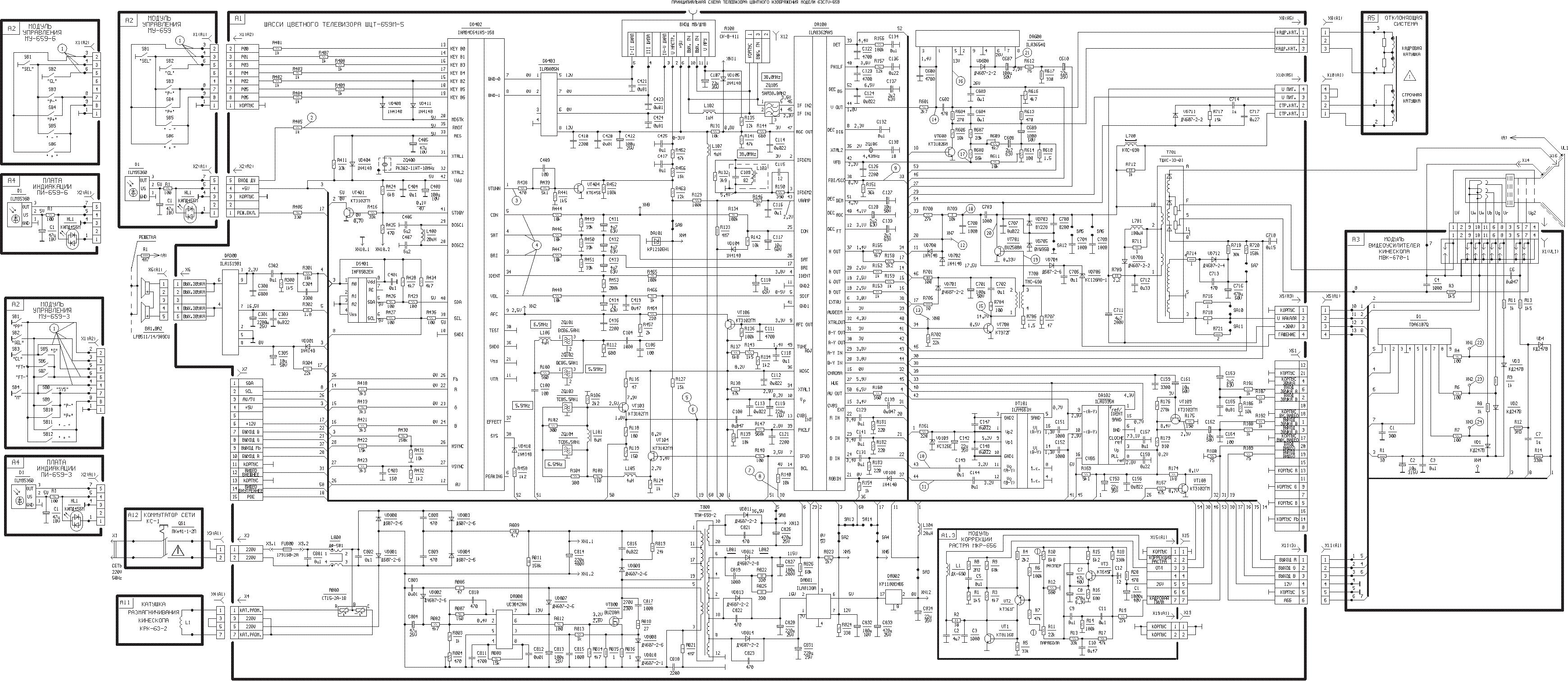 horizont fct410 - mtv212   stv6888   uc3842   stv9302