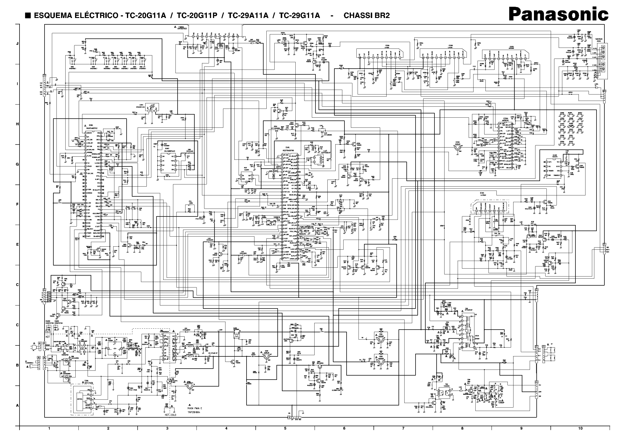 panasonic tv wiring diagrams panasonic tv wiring diagram