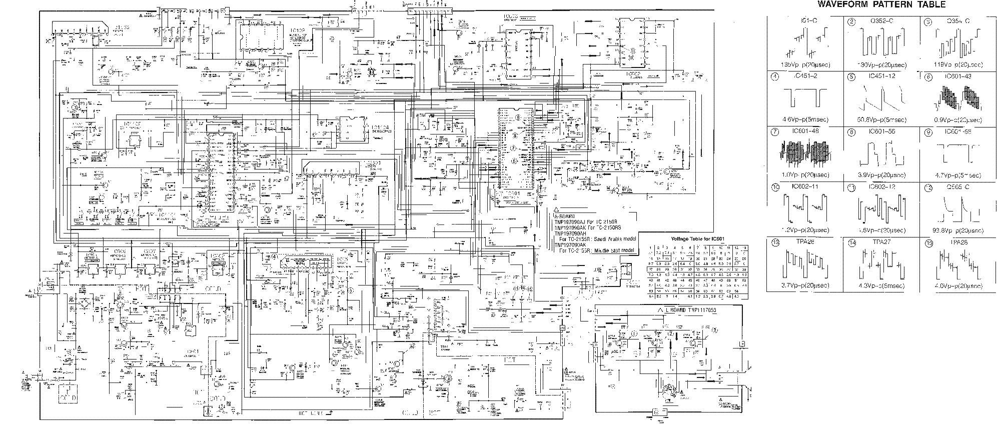 PANASONIC CHASSIS MX-3C MN152811TZX AN5192K A LA7837 SCH service manual  (1st page)