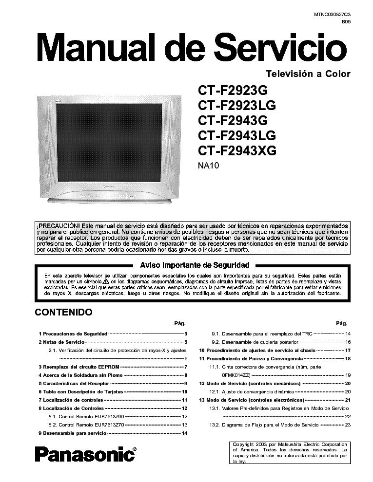 Panasonic Ty 42tm5h Ty 37tm5h Html Service Manual Download border=