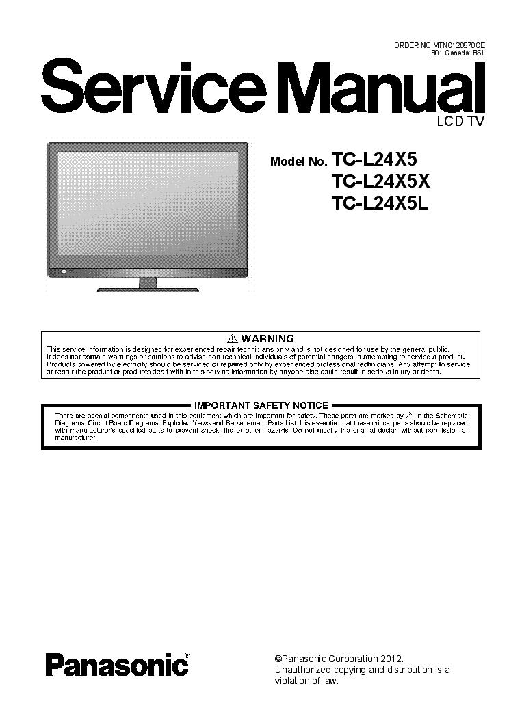 Panasonic Viera TH-P42XT50Q TV Driver for Windows 7