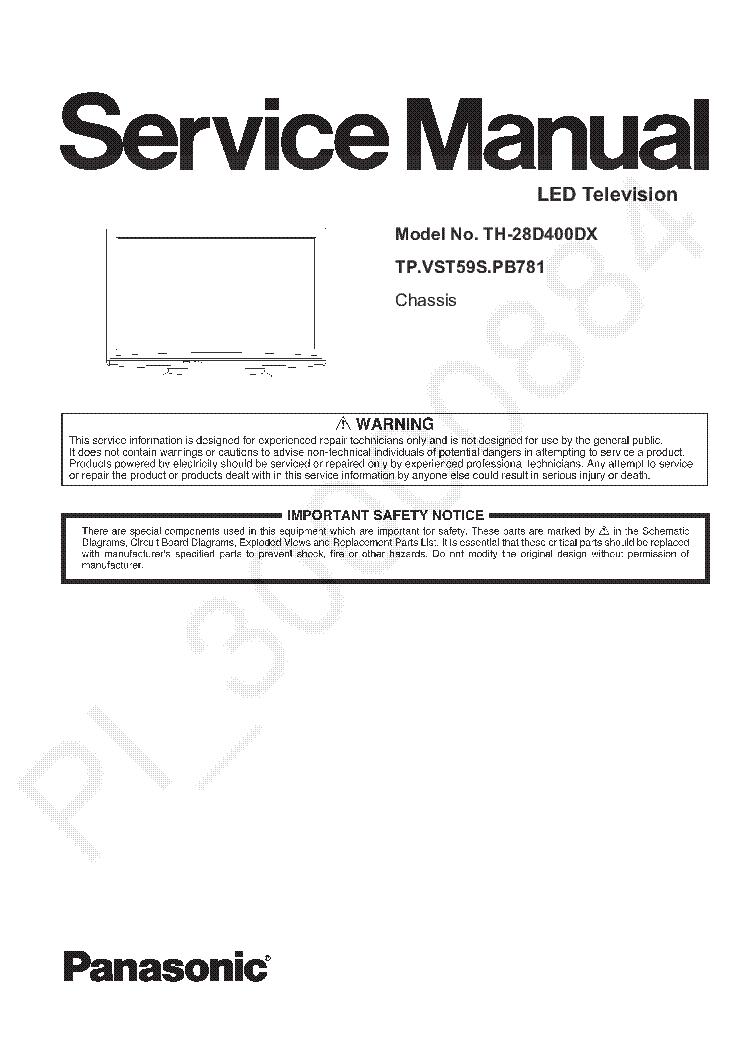 panasonic quintrix manual