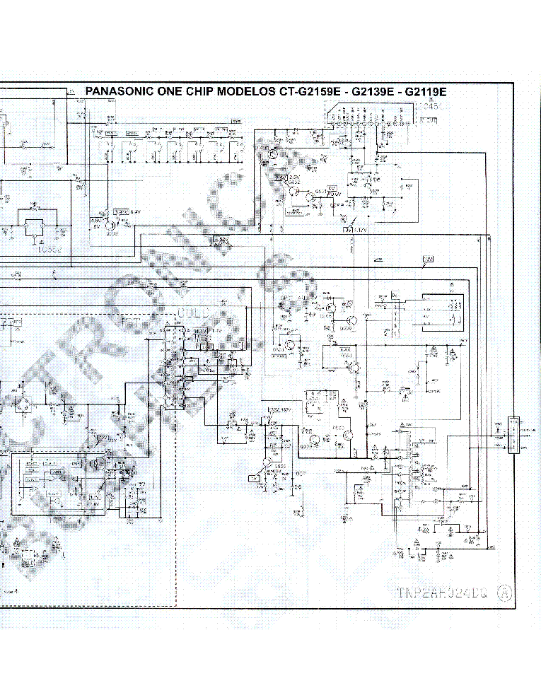 panasonic tv ct-g2159e schematic service manual download ... bose tv wiring diagrams