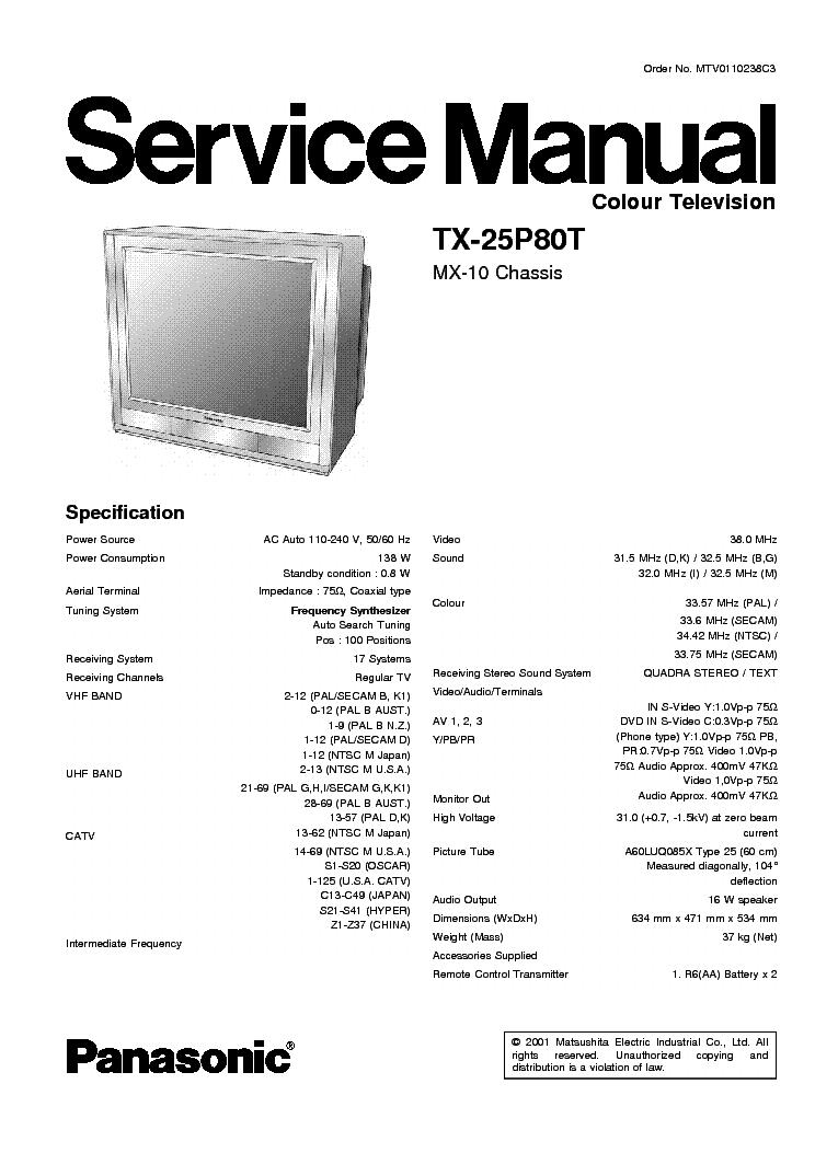 Инструкция Panasonik Kx-1703