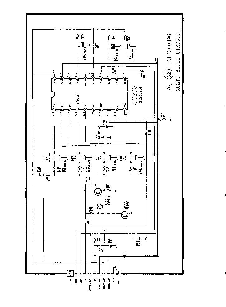 panasonic tx-20s1t схема