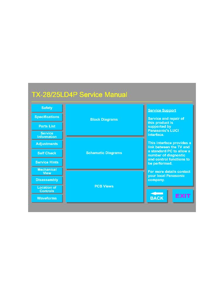 panasonic viera service manual pdf