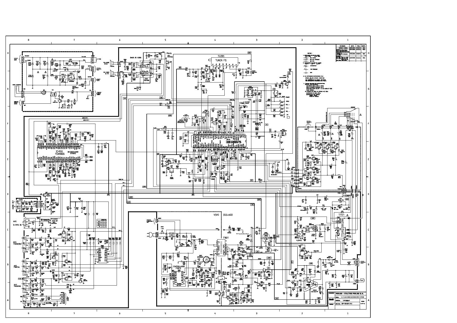 esquema tv philco tp-1452n