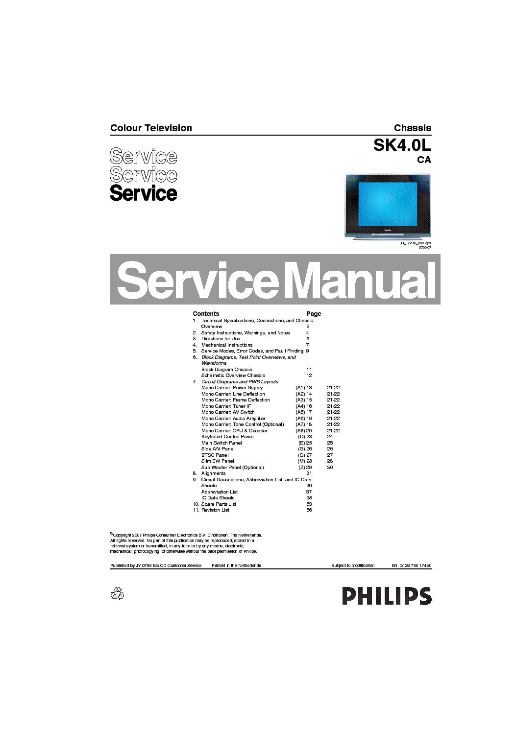 philips 21pt9457 chassis sk4 0l ca service manual download rh elektrotanya com manual da tv philips smart manual da tv philips 32 polegadas