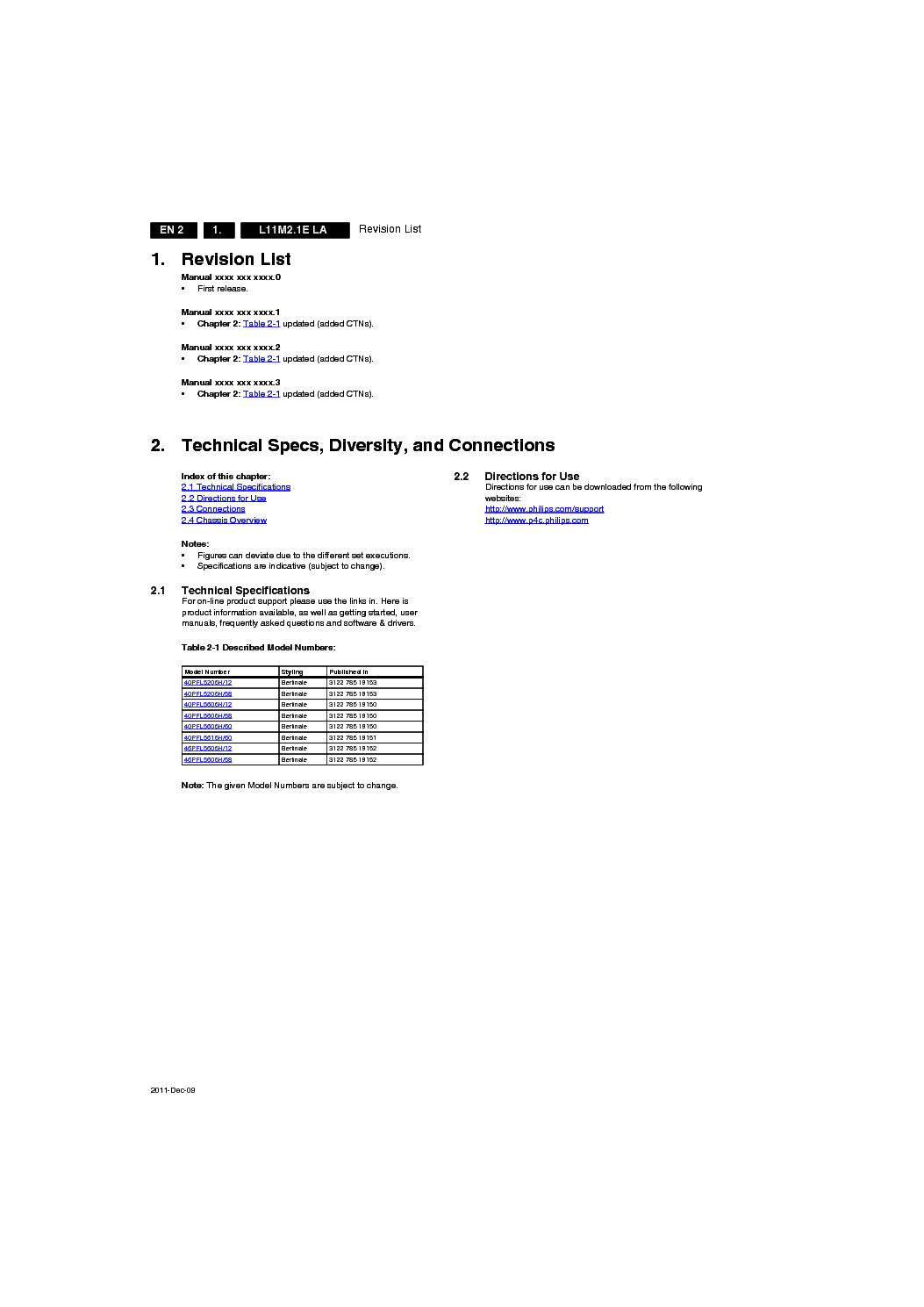 Philips 40pfl5606h Chassis L11m2 1e La Service Manual Download  Schematics  Eeprom  Repair Info