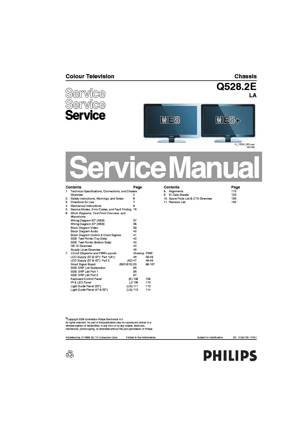 Схема philips 21cn4461