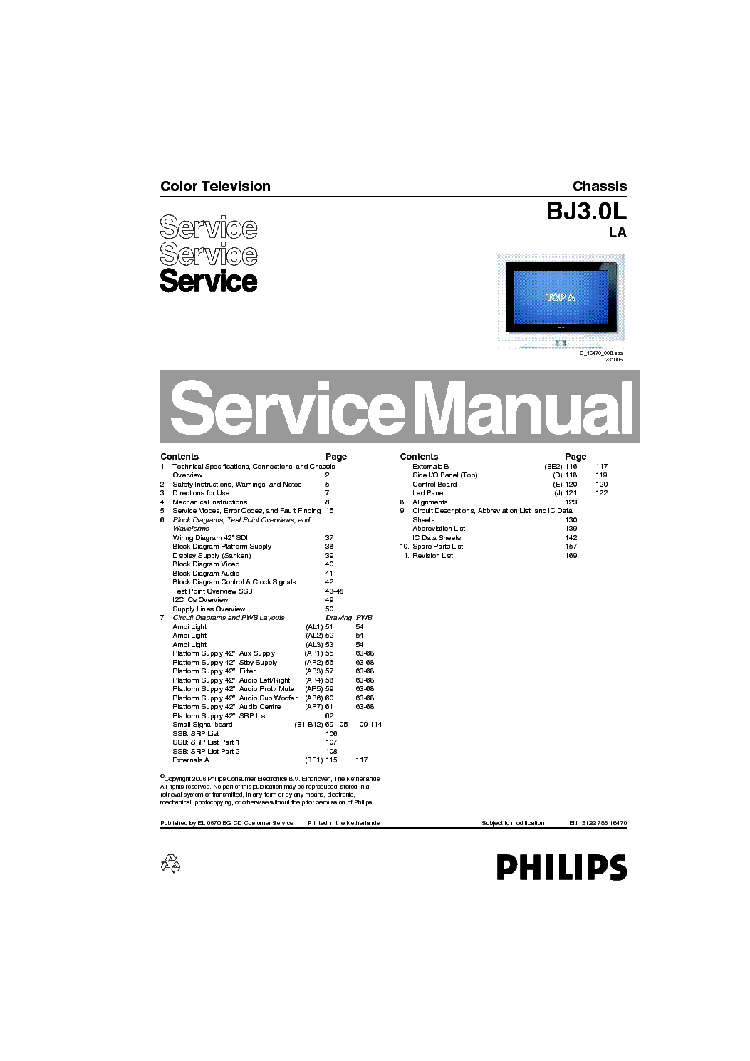 13 14 service overview manual