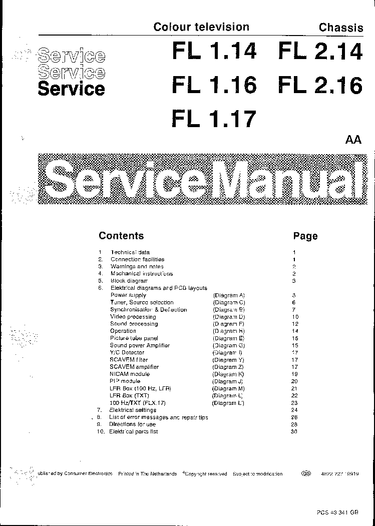 philips chassis fl1 14 1 16 1 17 2 14 2 16 service manual downloadphilips chassis fl1 14 1 16 1 17 2 14 2 16 service manual (1st preview