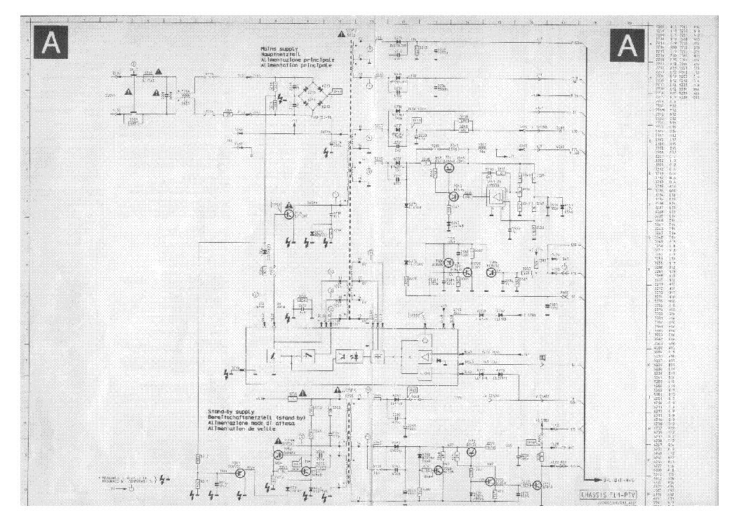 philips chassis fl1 sch service manual download, schematics, eeprom