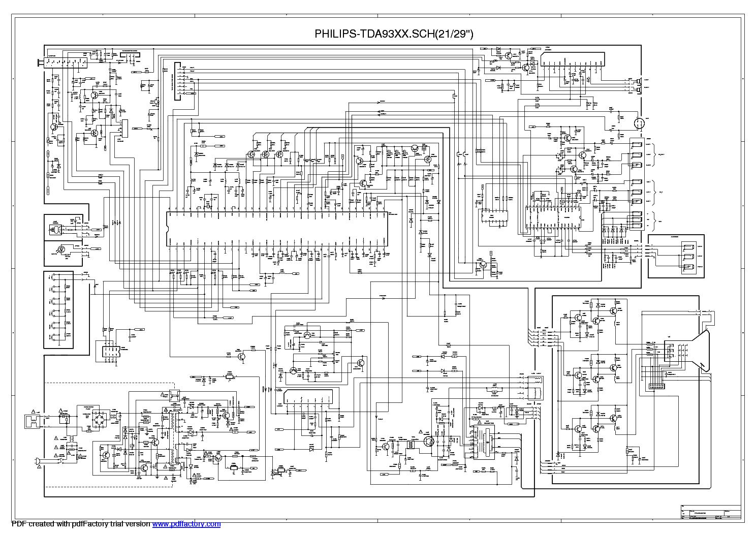 La78040 схема включения ремонт тв