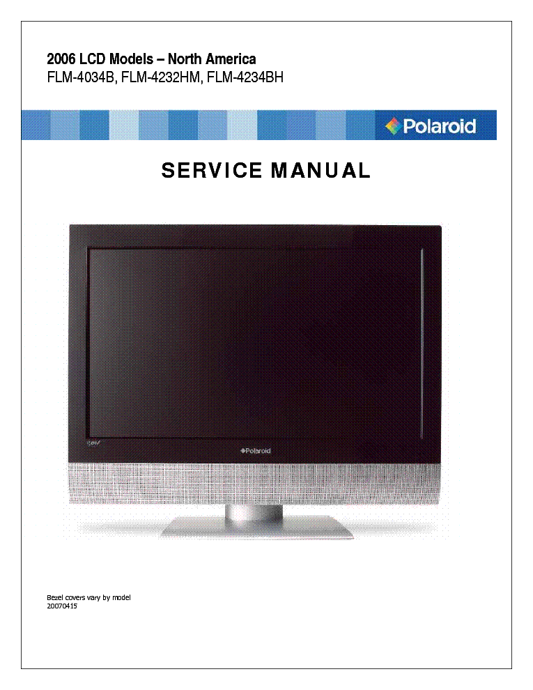 Tv service repair manuals schematics and diagrams.
