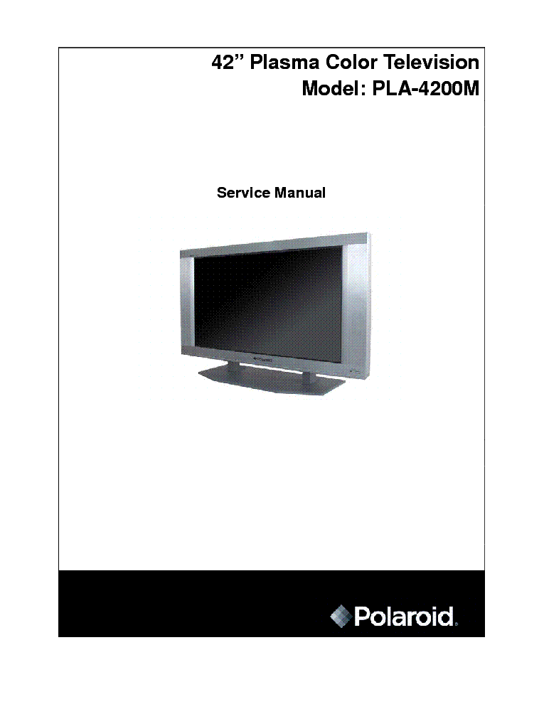Pdf manual for polaroid tv ttm-2401.