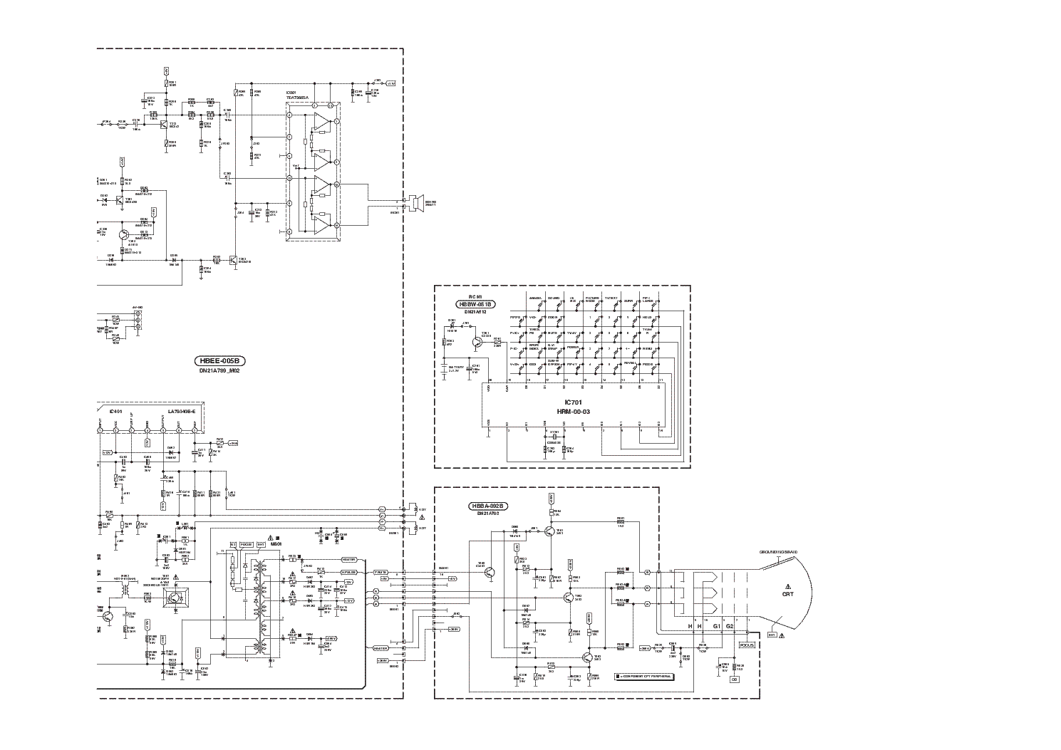 polytron t14n21tc bt6 sd11a396 hbt 00 04g sch service manual download  schematics  eeprom