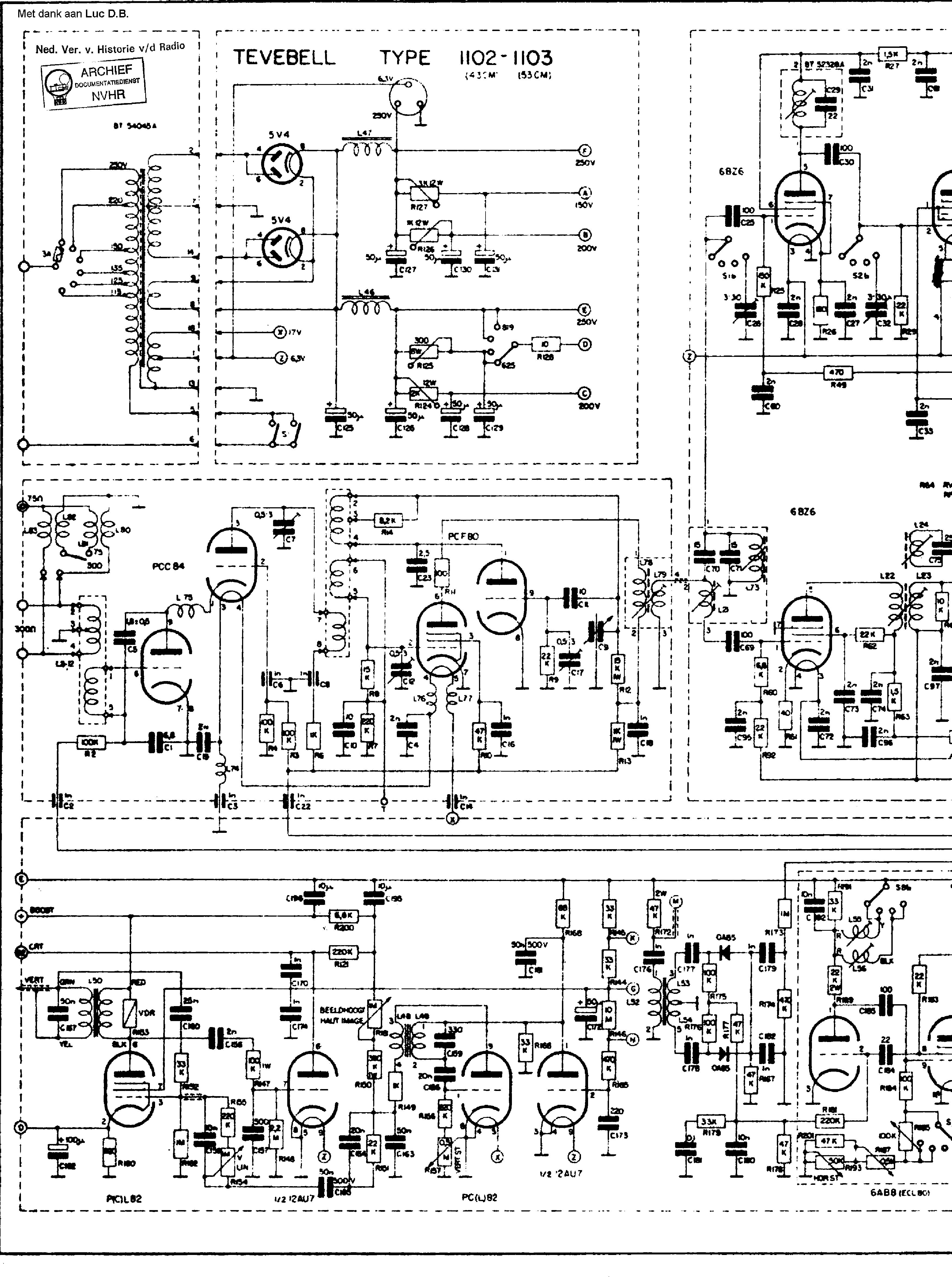 radiobell tv1102 tv receiver sch service manual download schematics Motherboard Schematic Diagram radiobell tv1102 tv receiver sch service manual 1st page