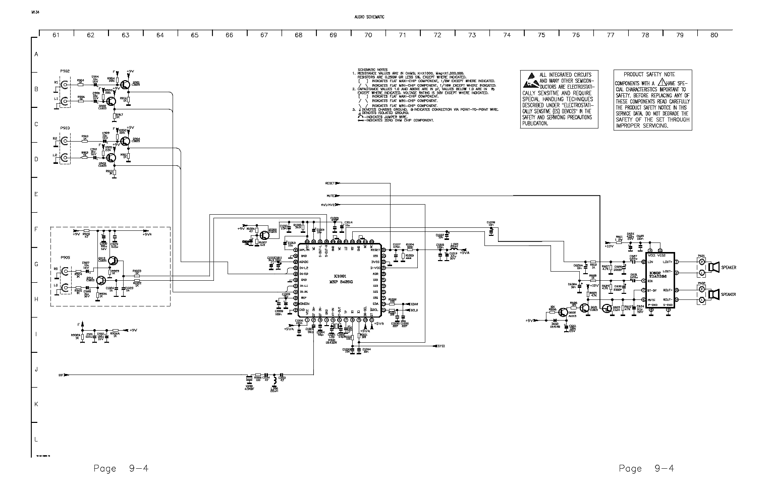 Rca Chassis M134c Service Manual Download Schematics Eeprom To Dvi Schematic 1st Page