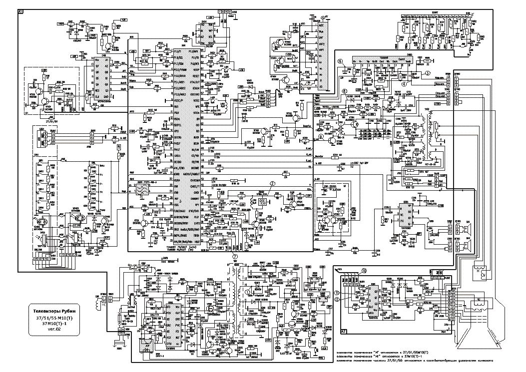 В помощь телемастеру схемы