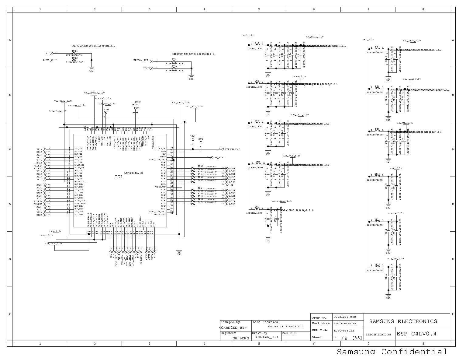 [SCHEMATICS_48IU]  SAMSUNG BN98-03131A S100FAPC2LV0 3-46D5500R T-CON SCH Service Manual  download, schematics, eeprom, repair info for electronics experts | T Con Board Block Diagram |  | Elektrotanya