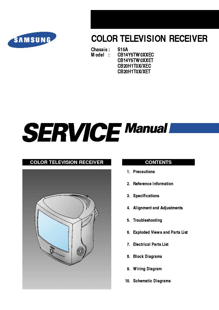 samsung s15a service manual