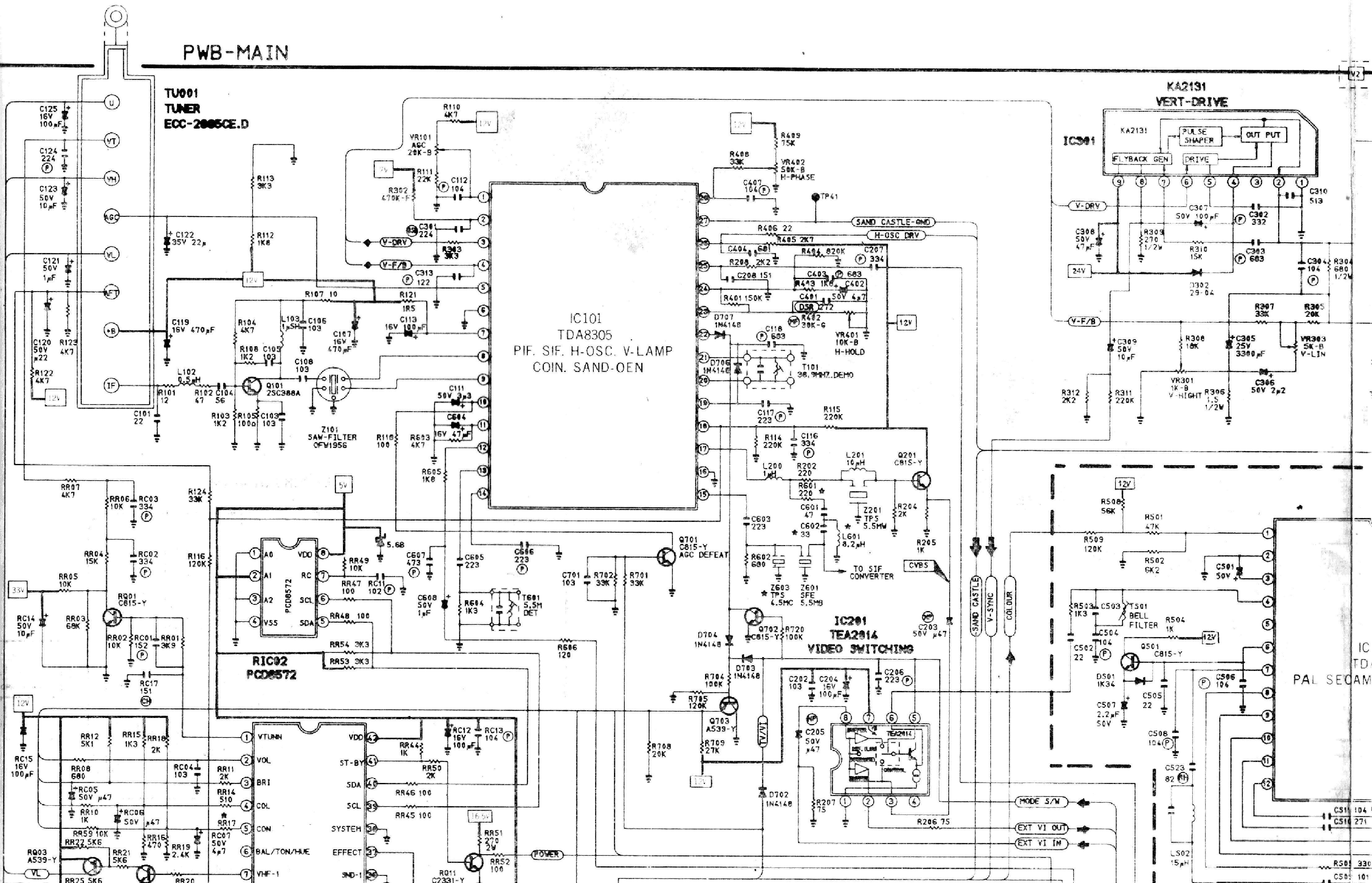 ютуб электрическая схема телевизора самсунг модель ск-5085 zr