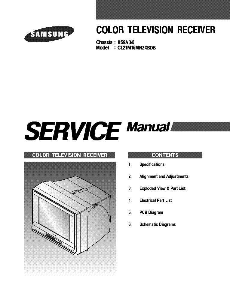 samsung cl21m16mn chassis ks9a sm service manual download rh elektrotanya com Samsung Schematics Samsung Owners ManualDownload