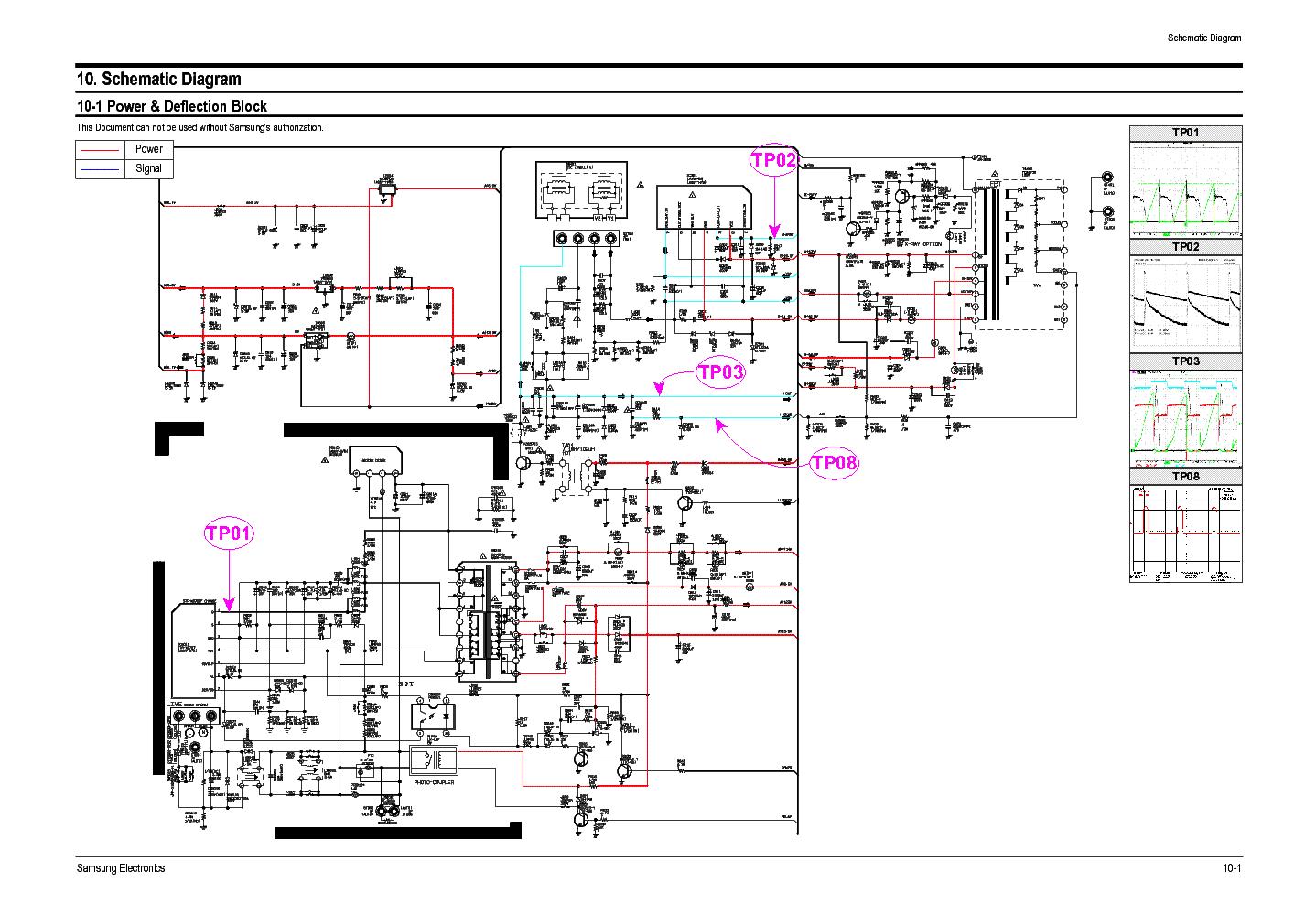 samsung plano tv circuit diagram