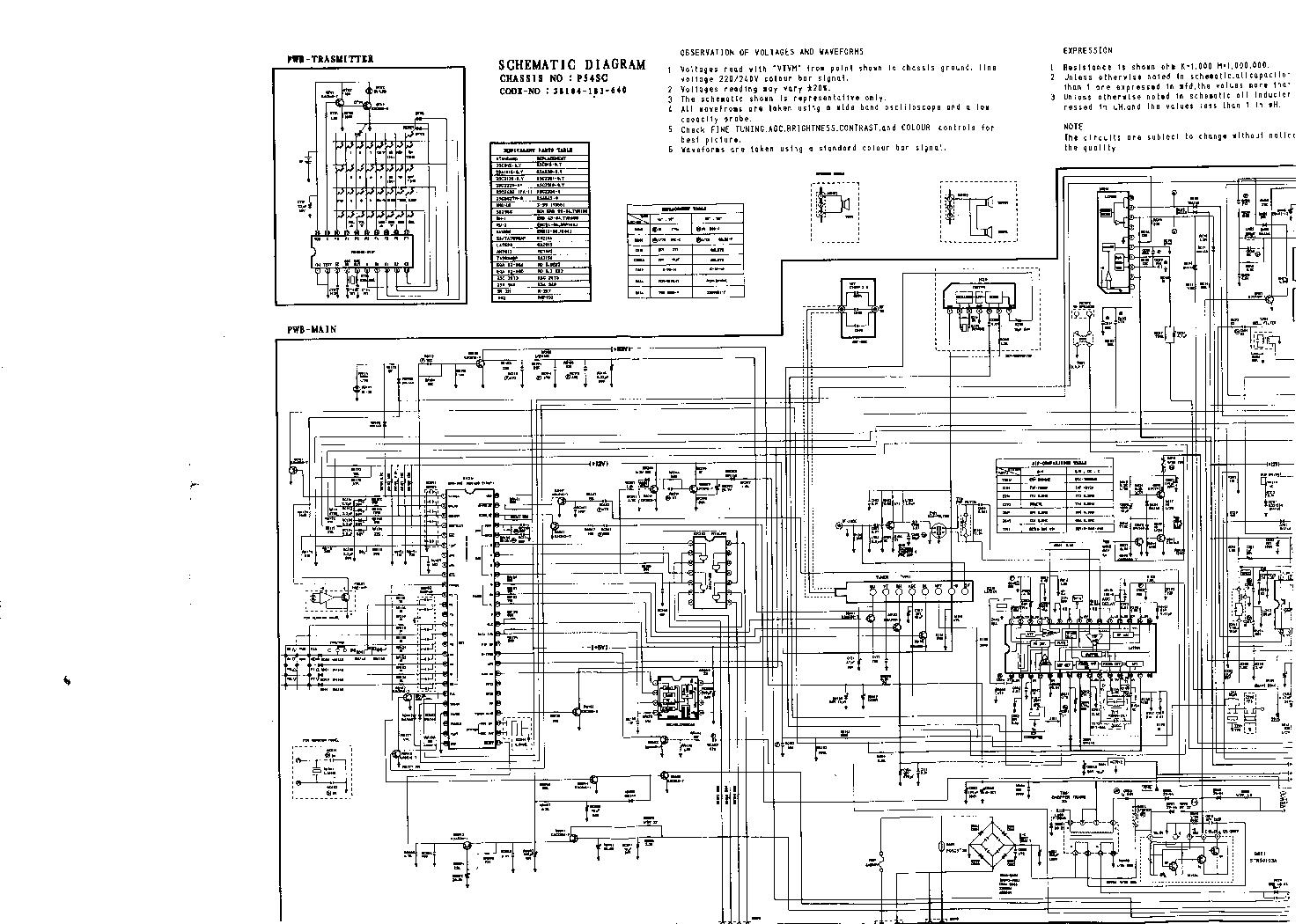 схемы телевизора самсунг ck 5339tr