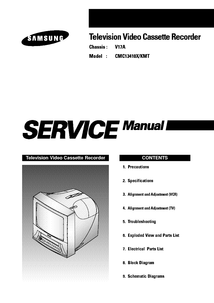 Samsung Cmc13410x Kmt Chassis V17a Service Manual Download